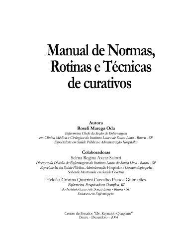Manual de Normas, RotinaseTécnicas decurativos - Instituto Lauro ...