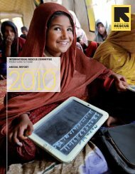 2010 Annual Report - International Rescue Committee