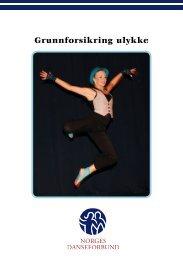 Forsikringsbrosjyre - Norges Danseforbund