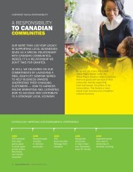 Corporate Social Responsibility - Yellow Pages Group