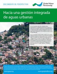 Hacia una gestión integrada de aguas urbanas - Global Water ...