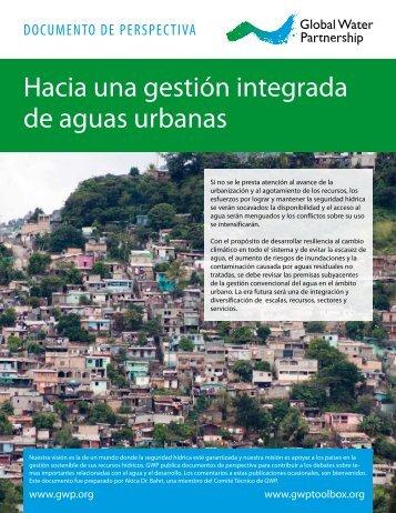 Hacia una gestión integrada de aguas urbanas - Global Water ...
