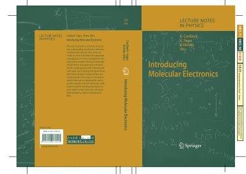 (Eds.) Introducing Molecular Electronics - materials science and ...