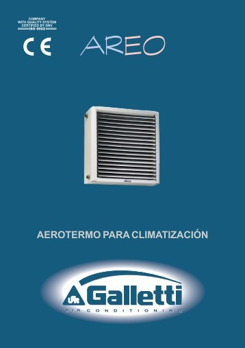 Folleto comercial - aplirecon