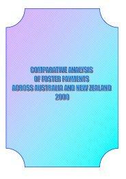 RESPONSES - CASE A - Australian Foster Care Association (AFCA)
