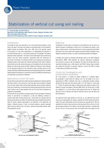 Stabilization of Vertical Cut.pdf - Plaxis