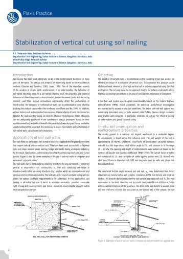 Stabilization of Vertical Cut.pdf - Plaxis