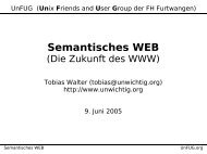 Semantisches WEB - UnFUG.org