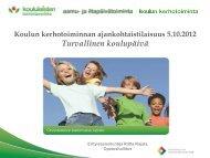 Turvallinen koulupäivä - Edu.fi