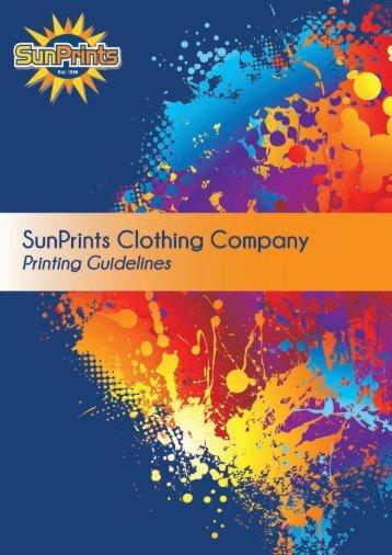 set up guide - SunPrints