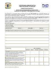 SECRETARÍA ADMINISTRATIVA - UNAM