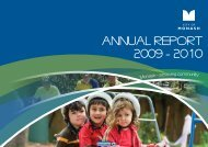 Annual Report 2009-2010 - City of Monash