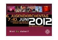 Fahrt zum JUKT 2012 - Evangelisches Dekanat Vorderer Odenwald