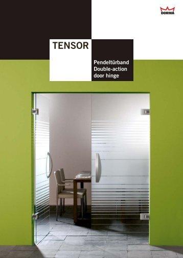 TENSOR - DORMA Interior Glas