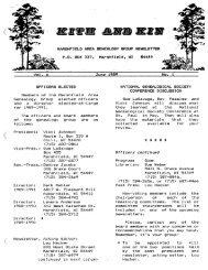June 1989 - Marshfield Area Genealogy Group