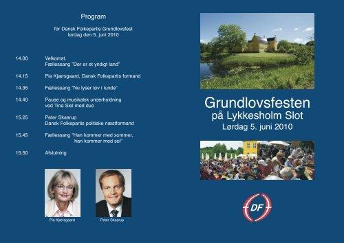 Grundlovsfesten - Dansk Folkeparti