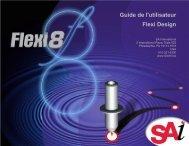 Guide de l'utilisateur Flexi Design - accueil