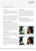 An IntroductIon to A FormAt - ARRI CSC - Page 3