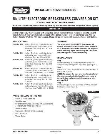 Mallory rev limiter wiring diagram wiring diagrams on mallory unilite wiring diagram Mallory Coil Wiring Ignition Ballast Resistor Wiring Diagram