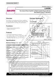 LA4598 - Datasheet Catalog