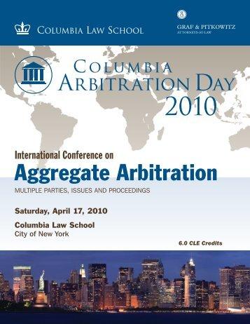 Aggregate Arbitration - Graf & Pitkowitz