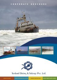 Sealord Diving & Salvage Pvt. Ltd. - Professional Diving Services ...