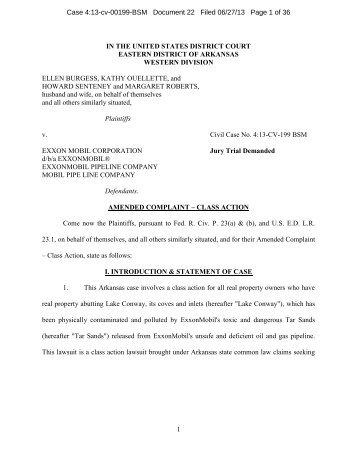 class-action lawsuit - DeSmogBlog