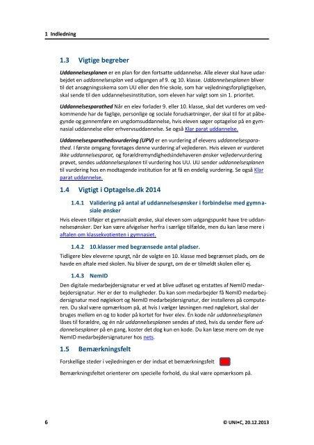 Vejlederens - Optagelse.dk