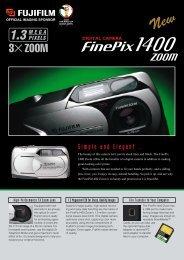 FinePix 1400 Zoom Brochure