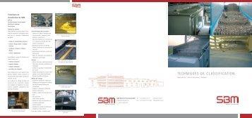 Assortiment de criblage et d'oscillation - SBM