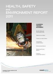 HSE Report 2011 English - voestalpine