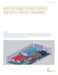analysis guide for electronics/ electrical product designers - EngATech