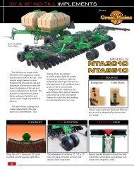 NTA3010 NTA3510 - Great Plains Manufacturing