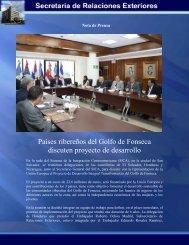 Países ribereños del Golfo de Fonseca discuten proyecto de ...
