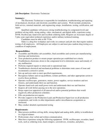 Surgical Technician Job Description Job Summary - Fastaff