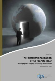 The Internationalization of Corporate R&D