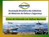 a industria nacional de defesa - abimde
