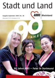 90 Jahre AWO – Feier in Dortmund - Betreuungsvereine
