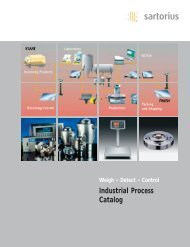Industrial Process Catalog of Load Cells - Sawyer/Hanson Innovations