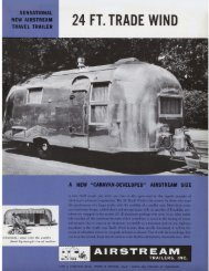 24 FT. TRADE WIND - Airstream
