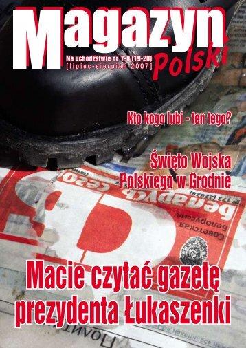 Święto Wojska Polskiego w Grodnie - Kresy24.pl