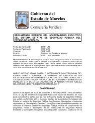 Reglamento Interior del Secretariado Ejecutivo del Sistema Estatal ...