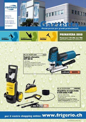 Gazzetta primavera 2010.pdf - Frigerio & Co