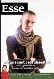 Esse 17/2013 (pdf) - Espoon seurakuntasanomat