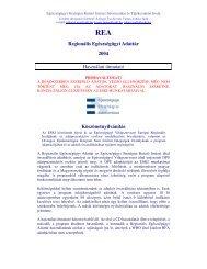 Regionális Egészségügyi Adattár 2004 Használati útmutató ... - ESKI