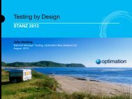 Testing by Design - Software Education