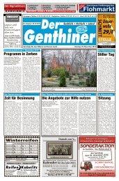 Service in Ihrer Nähe - Der BurgSpiegel / Der Genthiner