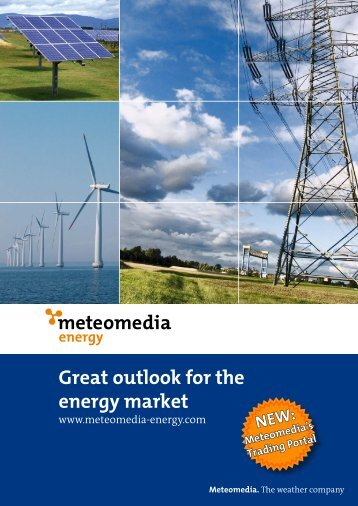 Great outlook for the energy market - Meteomedia AG
