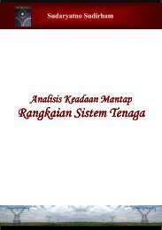 Rangkaian Rangkaian Sistem Tenaga - Ee-cafe.org