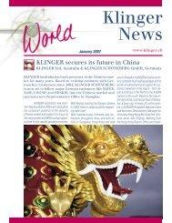 Klinger News - KLINGER Australia